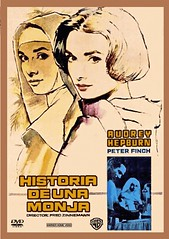 The Nun's Story (1960) (Spain) dvd cover (KlaatuCarpenter) Tags: mac audreyhepburn dvdcover peterfinch fredzinnemann macariogomez