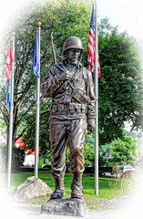 The American GI (robtm2010) Tags: usa monument statue canon soldier memorial vermont military wwii newengland worldwarii american windsor gi t3i