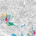 Coloriage Géant Tokyo