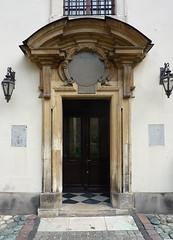 Krakov, kostel PM Sněžné (3) (ladabar) Tags: portal kraków cracow cracovia krakau krakov portál