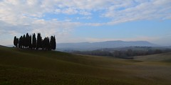 Val d'Orcia (Jessica Del Santo ) Tags: heritage beautiful landscape unesco val valley tuscany cypresses dorcia