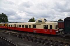 SNCF X3998 Mariembourg CFV3V (eddespan (Edwin)) Tags: train belgie zug trein sncf spoorwegmuseum museumtrein cfv3v chemindeferavapeurdestroisvalees dieselmotorrijtuig