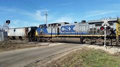 CSX East Bound (skeen123) Tags: winter train illinois december il warren csx appleriveril jodaviesscounty warrenil jodaviessco
