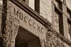 A sepia from, 1890? (beachtime12) Tags: architecture massachusetts williamscollege college sepia building bricks monotone
