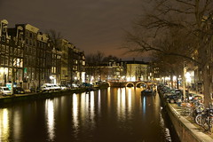 (J N Photography) Tags: city longexposure nightphotography urban holland reflection water netherlands colors amsterdam night canal colorful cityscape nederland streetphotography reflet colored streetphoto paysbas amstel jordaan urbanscape noordholland urbain canalhouse longueexposition northholland poselongue amsterdamcentrum amsterdamapartment amsterdambridge pontamsterdam dt1650mmf28ssm sonyalpha77 jeremynuyten