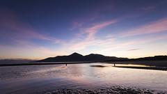 Mourne Sunset (Lee Galashan) Tags: county ireland sunset mountains beach canon reflections sand angle wide sigma down lee 1020mm filters northern mourne f456 7dmk2