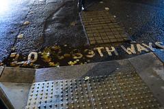 look both ways (lumofisk) Tags: street feet dark crossing pavement 28mm pedestrian dunkel pflaster lookbothways strase füse fusgänger überweg 0mmf0 nikondf
