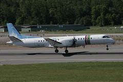 """Braathens Regional Saab 2000 SE-LXK 140610 BMA (Anders """"Bromma"""" Nilsson) Tags: airport 2000 landing saab bromma"""