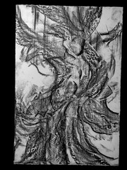 drawing graphcra struggle57x38cm