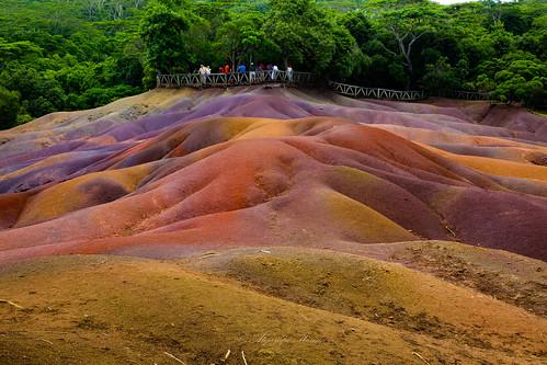 Tierra 7 colores, Chamarel - Mauricio