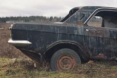 (Khuroshvili Ilya) Tags: auto abandoned car rusty gaz retro soviet vehicle volga ussr gaz21