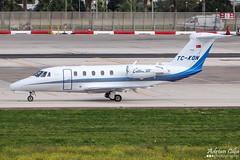 Private --- Cessna 650 Citation VII --- TC-KON (Drinu C) Tags: plane private aircraft aviation sony 650 dsc cessna vii citation mla bizjet privatejet lmml hx100v adrianciliaphotography tckon