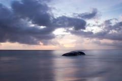 Timeless (felipeepu) Tags: sunset sea water meer sonnenuntergang seychelles timeless felsen seychellen