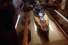 USS Arizona (As It Was) (AntyDiluvian) Tags: hawaii 2001 30thanniversary oahu honolulu pearlharbor attack ussarizonamemorial ussarizona visitorcenter model shipmodel 12741