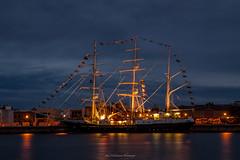 Tenacous McLaren Wharf Nught.. (johnwilliamson4) Tags: adelaide longexposure mclarenwharf portadeleide southauatralia tallshiptenaciuosnight southaustralia australia