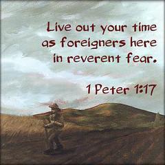 1 Peter 1:17 (joshtinpowers) Tags: peter bible scripture