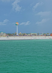 Pensacola Beach (kevin33040) Tags: none sony a6000 florida fl pensacolabeachfl pensacolabeachgulfpier gulf pier beach sand water sky hdr tourism outdoors nature sea ocean waterfront