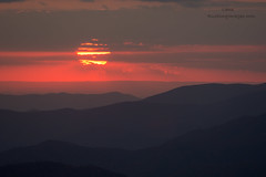 300mm Clingman's Dome Sunset (Lane Rushing) Tags: 300mmf4 clingmansdome d7100 greatsmokymountainnationalpark nikon sunset