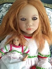 Sunday dolls (astrosnik) Tags: kinderpuppen himstedtmirte doll annettehimstedt himstedt