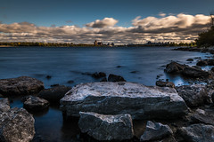 Clear Water (andrea.demeo) Tags: water ndfilter outdoor rock ottawa river longexposure formation blue