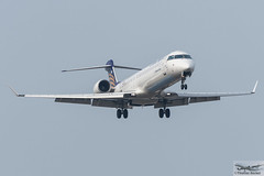 Lufthansa Regional (CityLine) Bombardier CRJ-900LR D-ACNB Wermelskirchen (713097) (Thomas Becker) Tags: lufthansa regional clh bombardier canadair cl6002d24 jet crj900lr crj 900 cr9 dacnb wermelskirchen star alliance cn 15230 cgzqm 120509 eurowings germanwings lh1027 paris cdg fraport flughafen airport aeroport aeropuerto aeroporto fra eddf frankfurt plane spotting aircraft airplane avion aeroplano aereo  vliegtuig aviao  samolot flugzeug germany deutschland hessen rheinmain nordwestlandebahn nikon d7200 nikkor 80400g dx raw gps aviationphoto 160310 arrival geotagged geo:lat=500357842 geo:lon=84889300 aerotagged aero:airline=clh aero:man=bombardier aero:model=crj900 aero:special=lr aero:tail=dacnb aero:airport=eddf