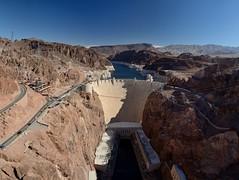 2016-10-11 Hoover Dam 1 (JanetandPhil) Tags: nikon nikkor d800 70200mmf28 20160910coloradoutahnevadaarizonavacation mikeocallaghanpattillmanmemorialbridge ushighway93 bouldercityut boulderdam hooverdam intaketowers lakemead usroute93