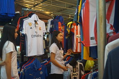 Night Market, Udon Thani, Thailand (Insights Unspoken) Tags: nightmarket udonthani udon shopping trade sale buy sell shopper shoppers shop girl poloshirt