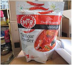 "RECALLED - SHRI SHIVA Foods Inc. Recalls ""MTR Sambar Powder"" Because Of Possible Health Risk, Nov 7, 2016 (The U.S. Food and Drug Administration) Tags: foodsafety shri shiva mtr"