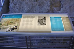 0U1A2051 Dinosaur National Monument - fossil exhibit hall (colinLmiller) Tags: 2016 utah dinosaurnationalmonument nm unitedstatesdepartmentoftheinterior us doi nps nationalparkservice interpretive sign