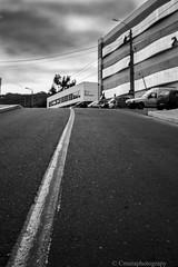ascenso (Cmura) Tags: street calle linea coquimbo ucn nubes monocromo universidad guayacan ivregion chile blackandwhite clouds