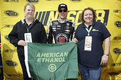American Ethanol Green Flag Restart Award Winner: Folds of Honor QuikTrip 500 (americanethanol) Tags: nascarmms awards checks nscsawardsops lasvegas nv unitedstates usa