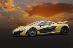 Mclaren P1 (lightrace) Tags: mclaren p1 supercars sunset