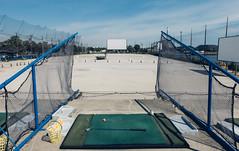 Driving Range at the Drive-in (dtstuff9) Tags: toronto ontario canada polson pier docks driving range golf drive theatre balls club