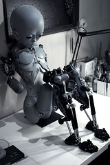 #19_1 (neji909) Tags: ningyou doll robot android gynoid synthetic lifesize
