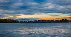 Nevena Uzurov - October evening (Nevena Uzurov) Tags: nevenauzurov serbia landscape windyevening sava river flatland sremskamitrovica autumn october