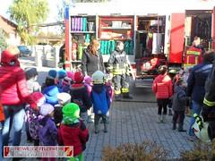 Räumungsübung Kindergarten