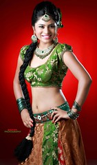 South Actress Deepika Das Traditional cum Hot Photos Set-3 (3)