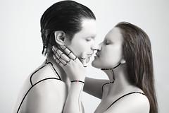 Back to human (nicooowable) Tags: cyborg scifi humano couple kiss love photography nikon