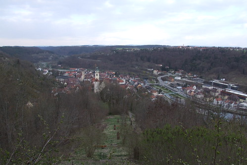 View over Horb, 08.04.2012.