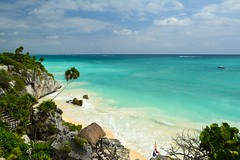 Tulum Mayan Ruins, Quintana Roo, Mexico (Janine Curry) Tags: carnival cruise western caribbean carnivalbreeze ship honduras cozumel belize color digital nikon d5200 tulum ancient mayan ruins quintana roo mexico