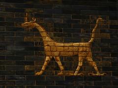 Ishtar Gate dragon (Sparky the Neon Cat) Tags: europe germany deutschland berlin mitte museum island museumsinsel pergamon ishtar gate babylon dragon