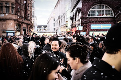 (samrodgers2) Tags: snow oxfordstreet londonstreetphotography fujixpro2 colour