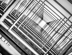 [The Gate] (Stadt_Kind) Tags: mostinteresting modern art geometry popular flickr new europe germany bavaria kempten stadtkind noiretblanc bokehlicious bokeh depthoffield dof square blackandwhite wideangle architektur architecturephotography architecture abstract abstrakt city urbex urban fassade