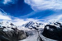 dominion of ice and snow (LiterallyPhotography) Tags: monterosa dufourspitze gornergrat gletscher eis schnee berge alpen berg gipfel wallis schweiz outdoor panorama zermatt