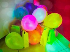 The Party Balloons (Steve Taylor (Photography)) Tags: art digital newzealand nz southisland canterbury christchurch party balloon