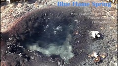Heart Lake Geyser Basin: Fissure Group spring P7 (video) (Chief Bwana) Tags: wy wyoming yellowstone yellowstonenationalpark nationalparks backcountry heartlake heartlakegeyserbasin geyserbasin hotspring fissuregroup geothermal psa104 chiefbwana video geyservideo