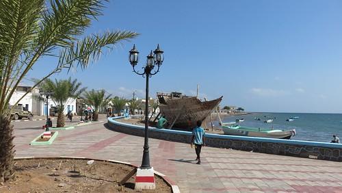 Djibouti_2015 - Nouvelle corniche de Tadjourah