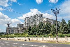 Palace of the Parliament (Bucharest) (Balcon del Mundo) Tags: palaceoftheparliament bucharest romania