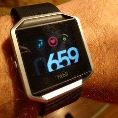 Fitbit Blaze (earthdog) Tags: 2016 wrist fitbit blaze fitbitblaze arm number lgenexus5x lge nexus 5x androidapp cameraphone cellphone moblog watch
