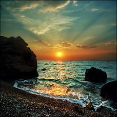 Rhodes wave 02 (Katarina 2353) Tags: landscape sunset katarina2353 katarinastefanovic